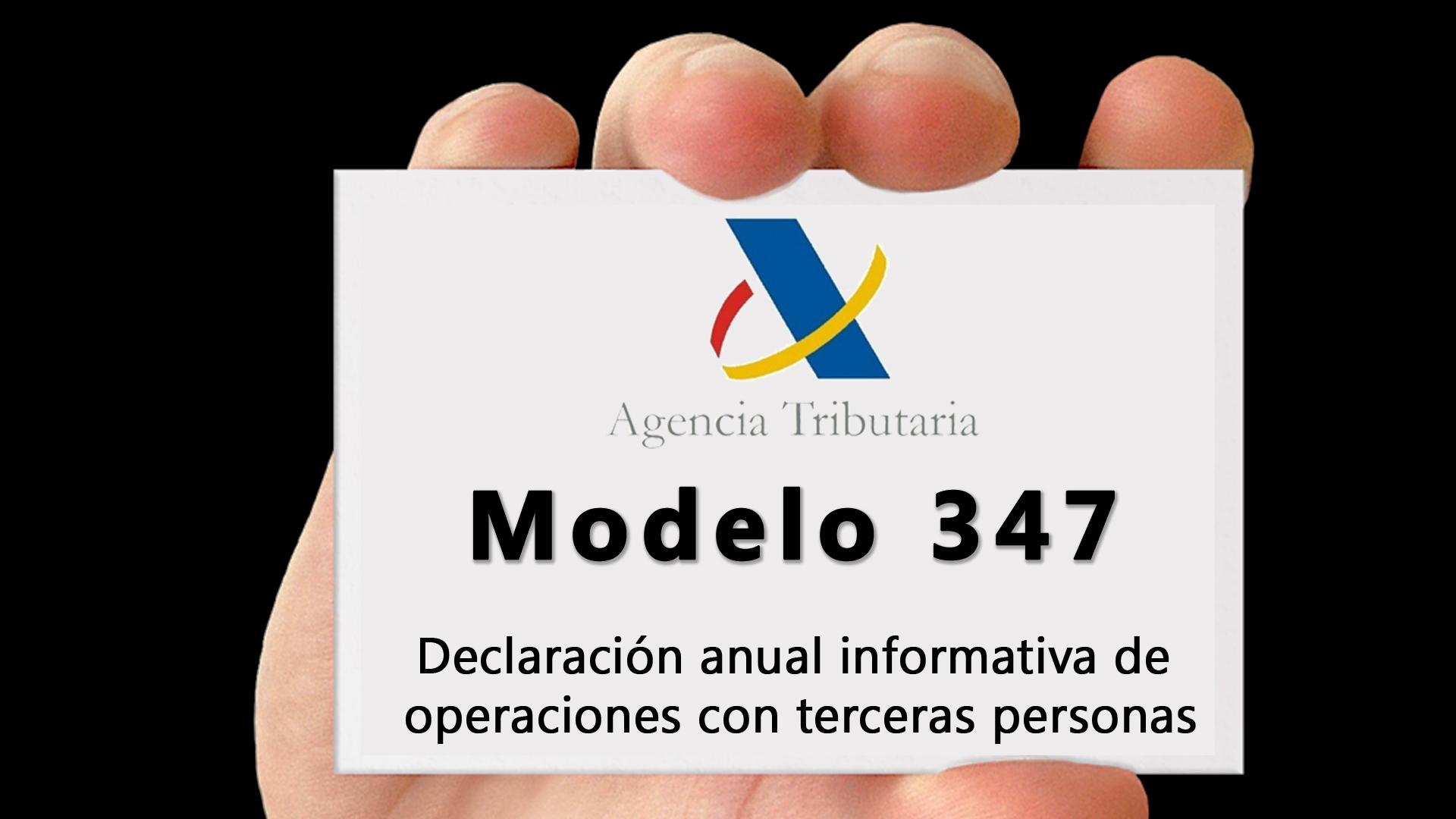 modelo 347 de la agencia tributaria en Dynamics NAV